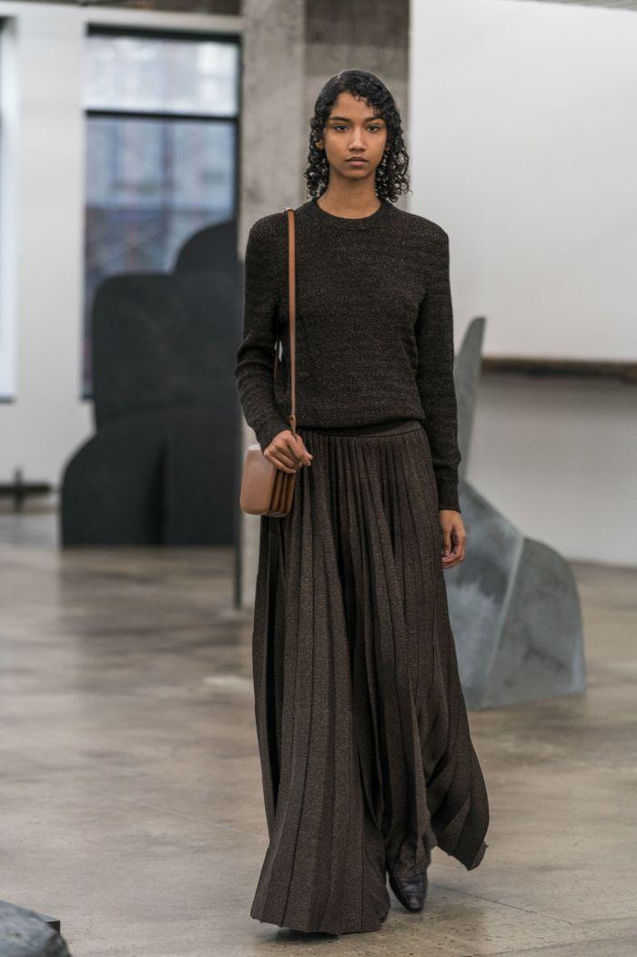 Модная женская юбка осень-зима The Row