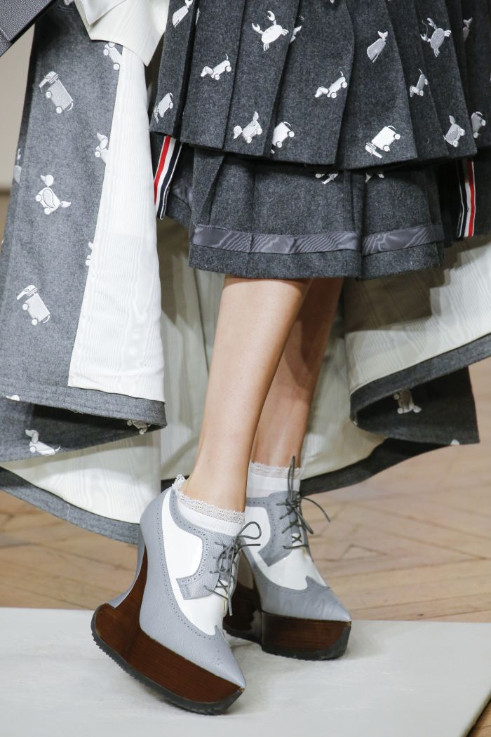 Модная обувь осень-зима 2018-2019 Thom Browne