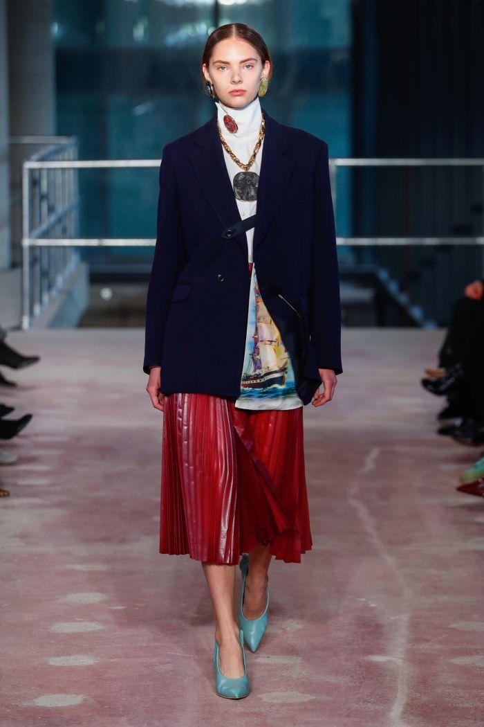 Модная женская юбка осень-зима Toga