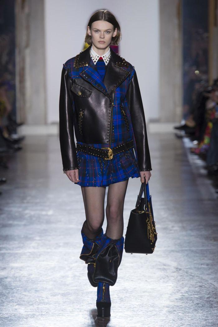 Модная женская юбка осень-зима Versace