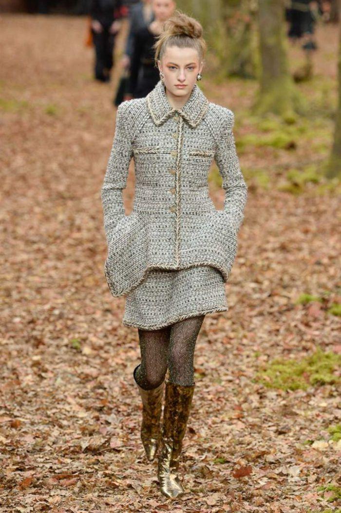 Модная обувь осень-зима 2018-2019 Chanel