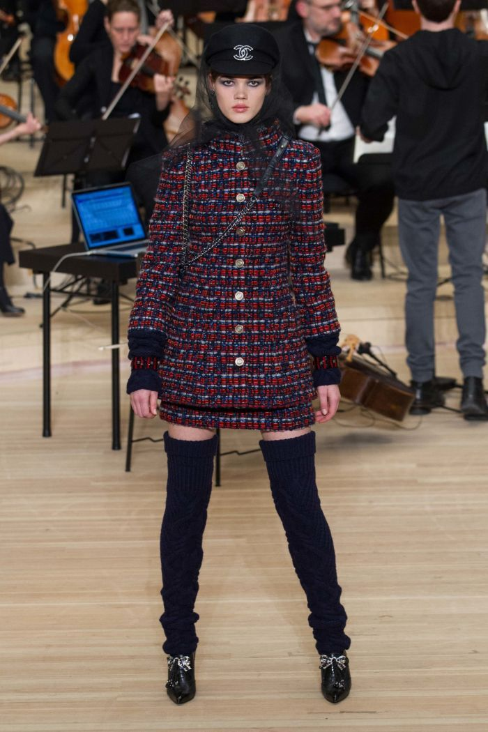 Модная юбка chanel