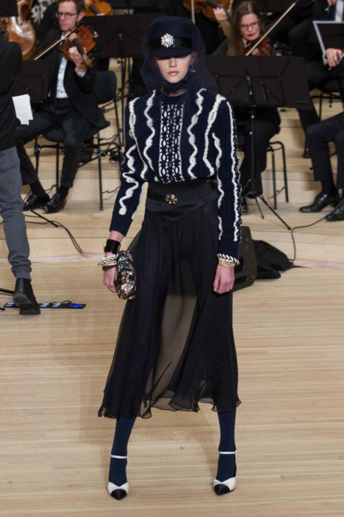 Модная женская обувь осень-зима Chanel