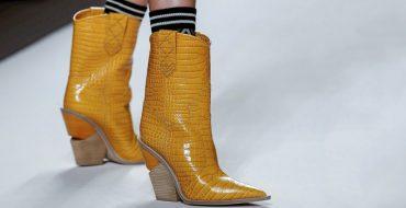 Модная обувь осень-зима 2018-2019