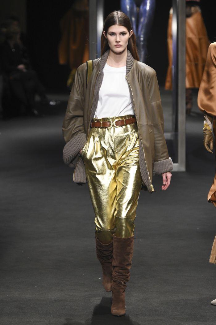 Модные женские брюки Alberta Ferretti