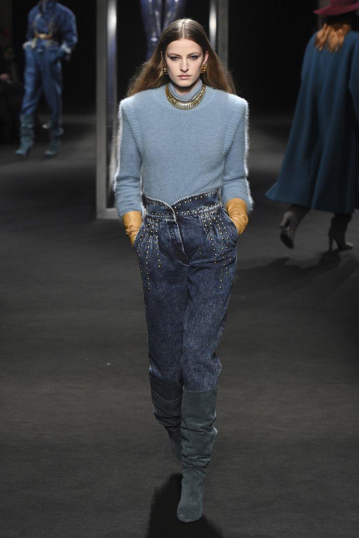 Модные женские джинсы Alberta Ferretti