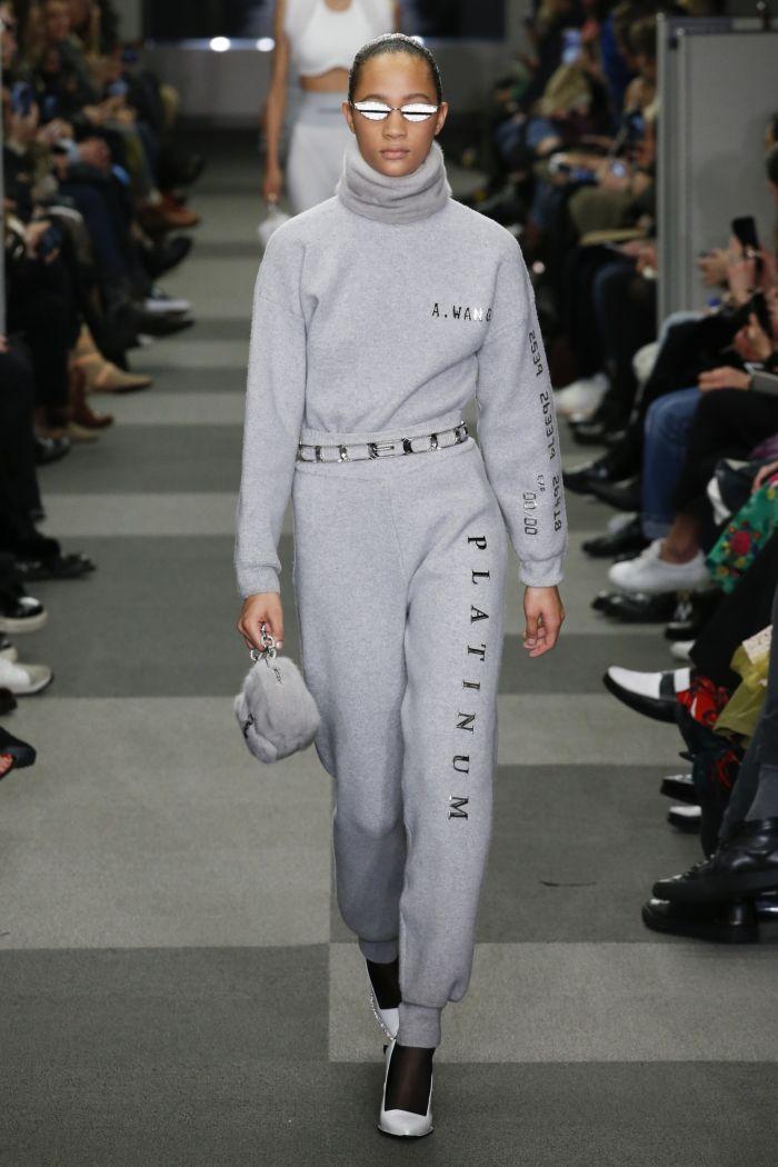 Модные женские брюки Alexander Wang