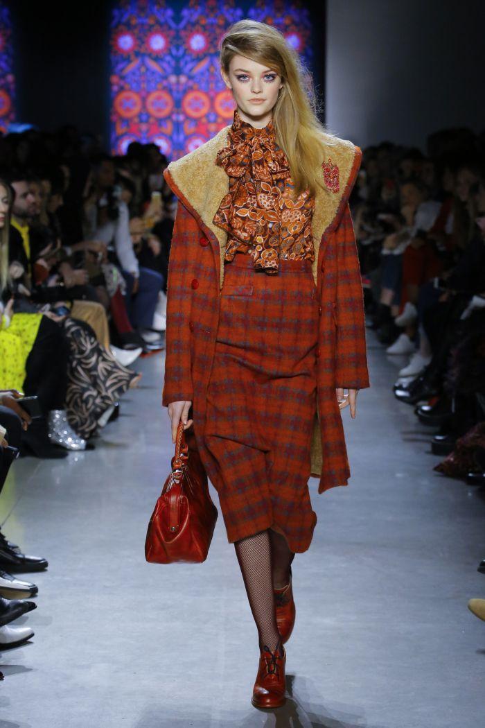 Модное пальто Anna Sui