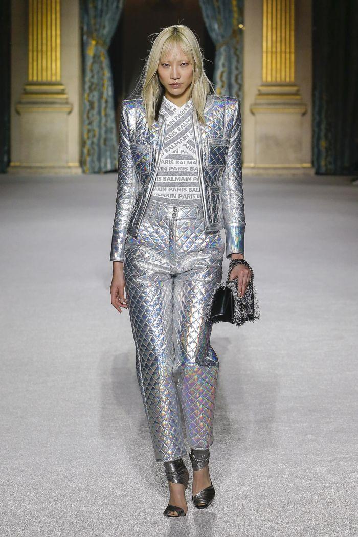 Модная куртка Balmain