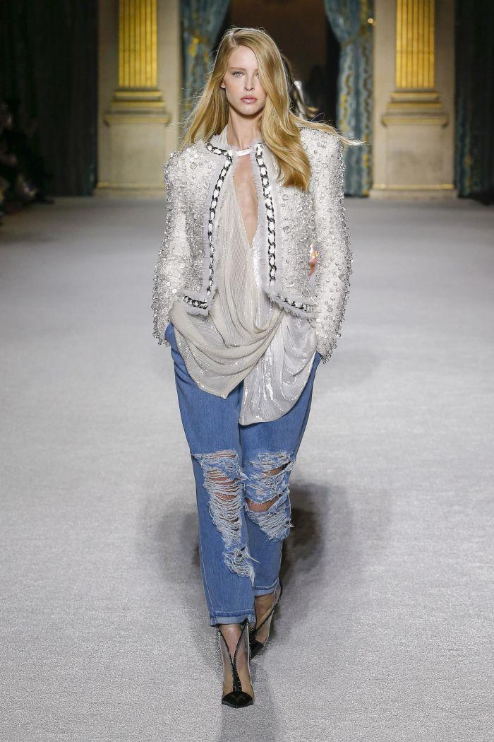 Модные женские джинсы Balmain