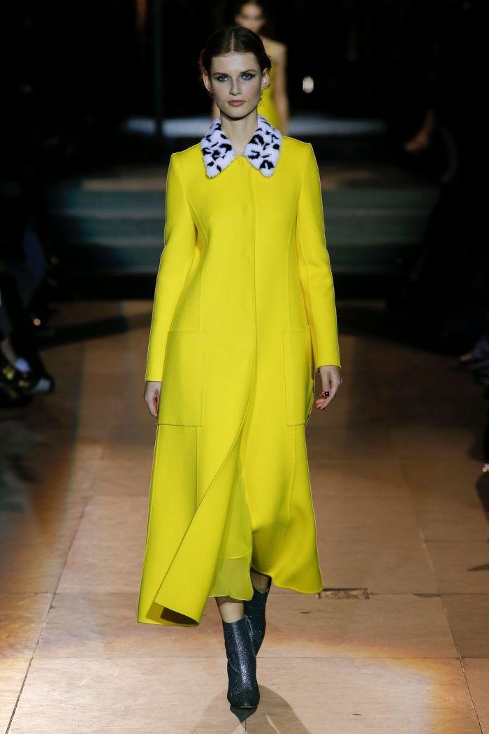Модное пальто Carolina Herrera