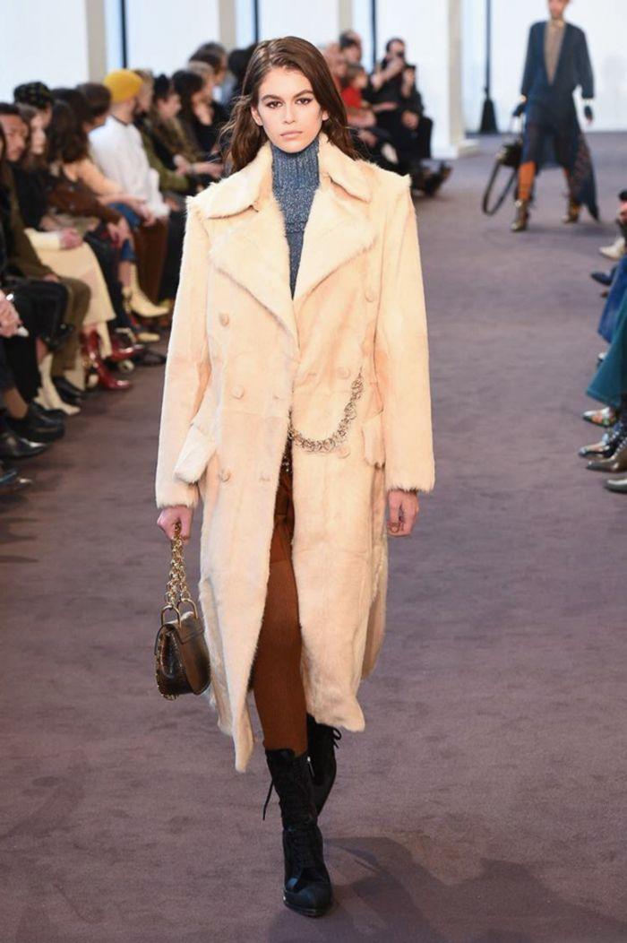 Модное пальто Chloé
