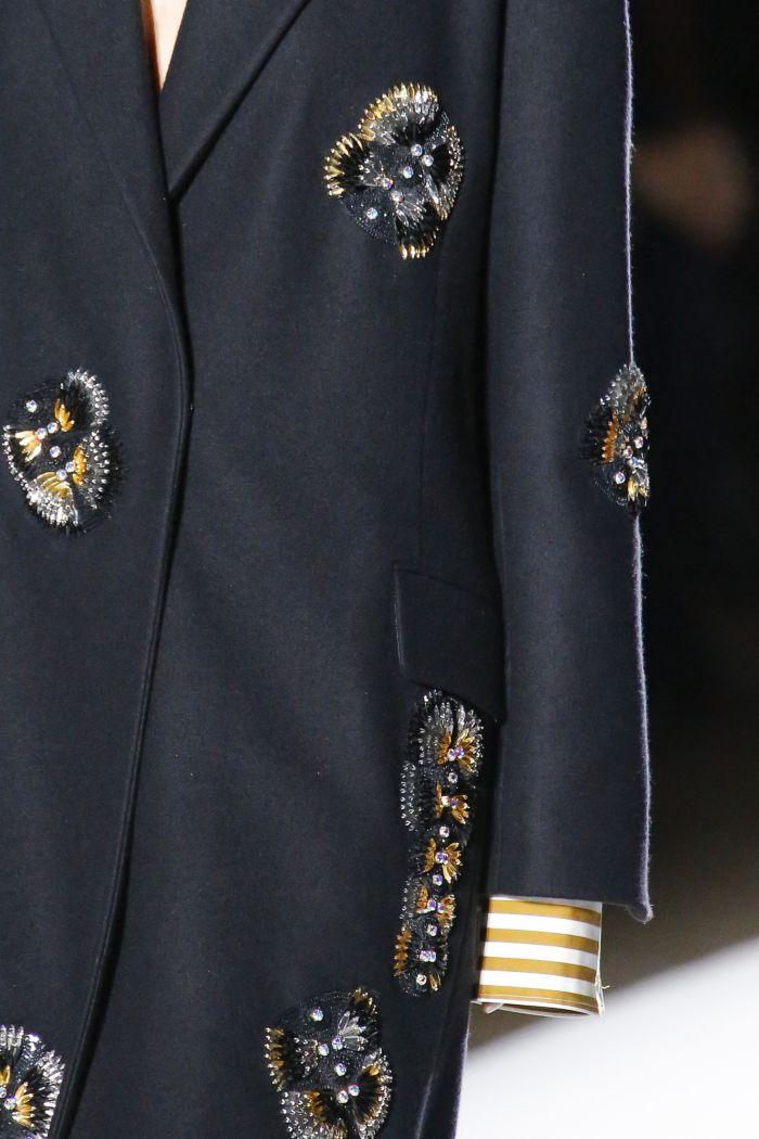 Модное пальто Dries Van Noten