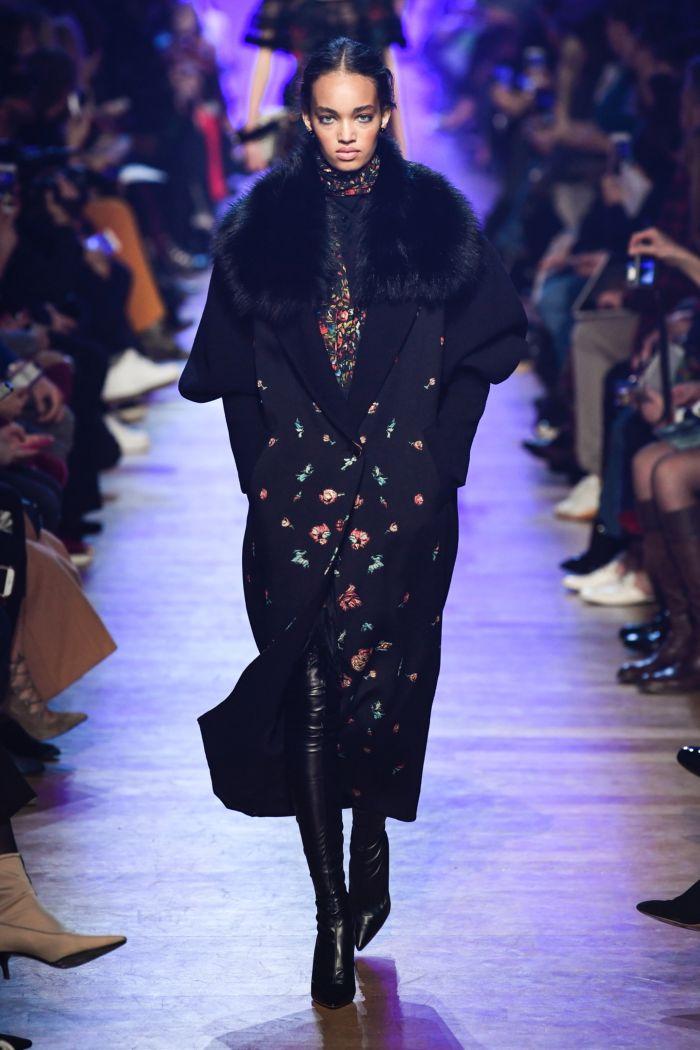 Модное пальто Elie Saab