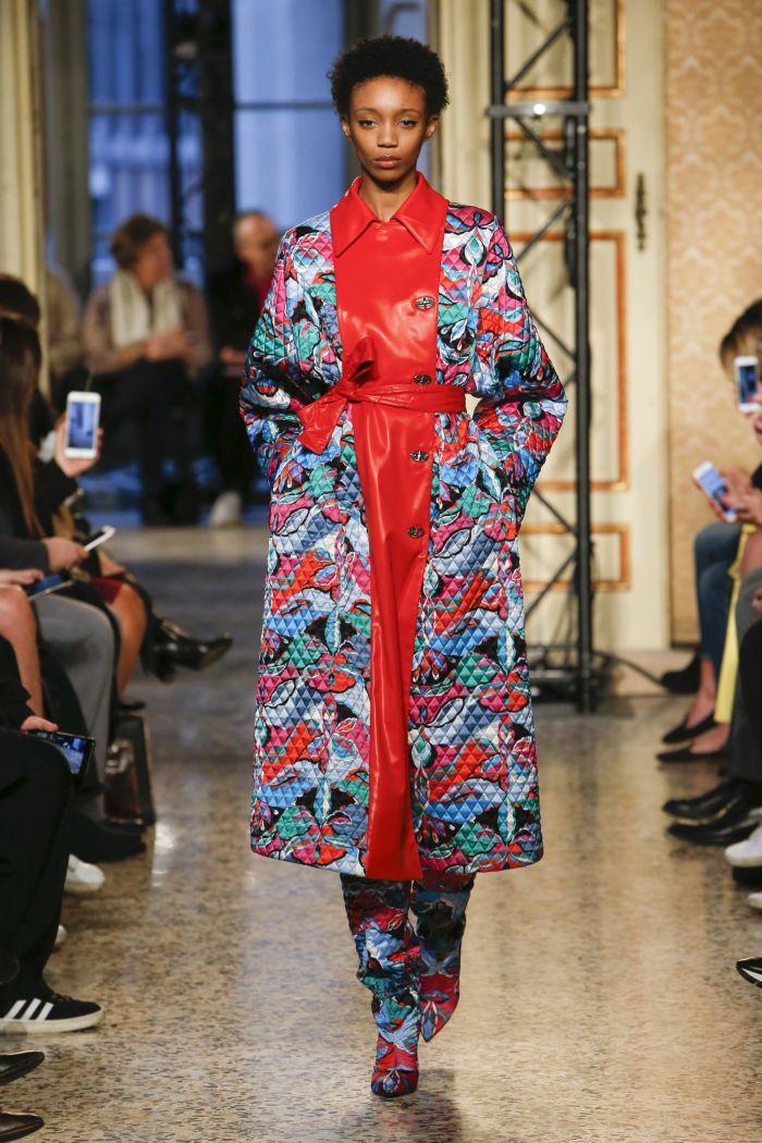 Модное пальто Emilio Pucci