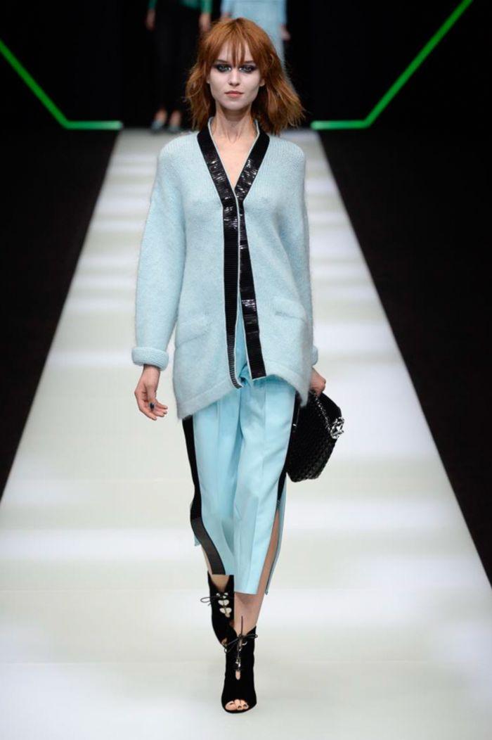 Модные женские брюки Emporio Armani