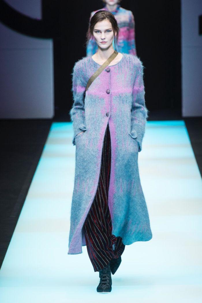 Модное пальто Giorgio Armani