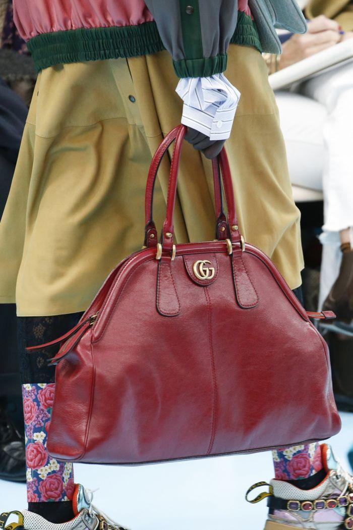 Модные цвета женских сумок в сезоне осень-зима 2018-2019