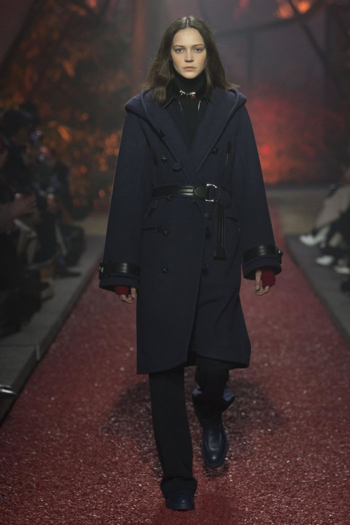 Модное пальто Hermès