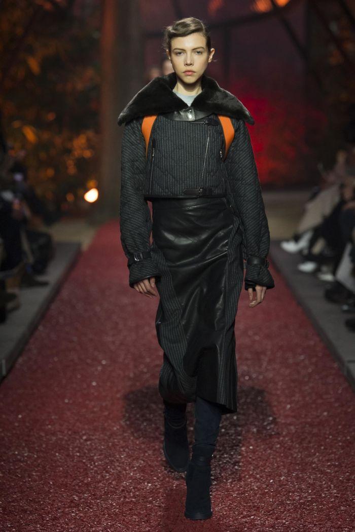 Модная куртка Hermès