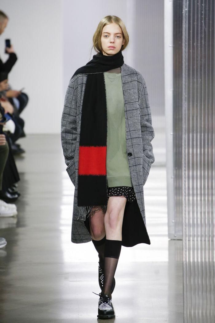 Модное пальто John Elliott
