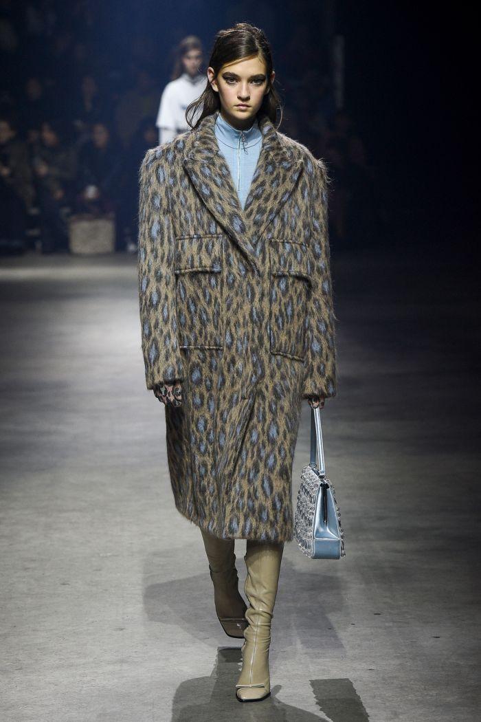 Модное пальто Kenzo