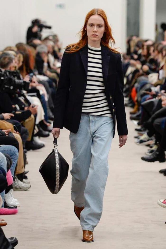 Модные женские джинсы Paco Rabanne