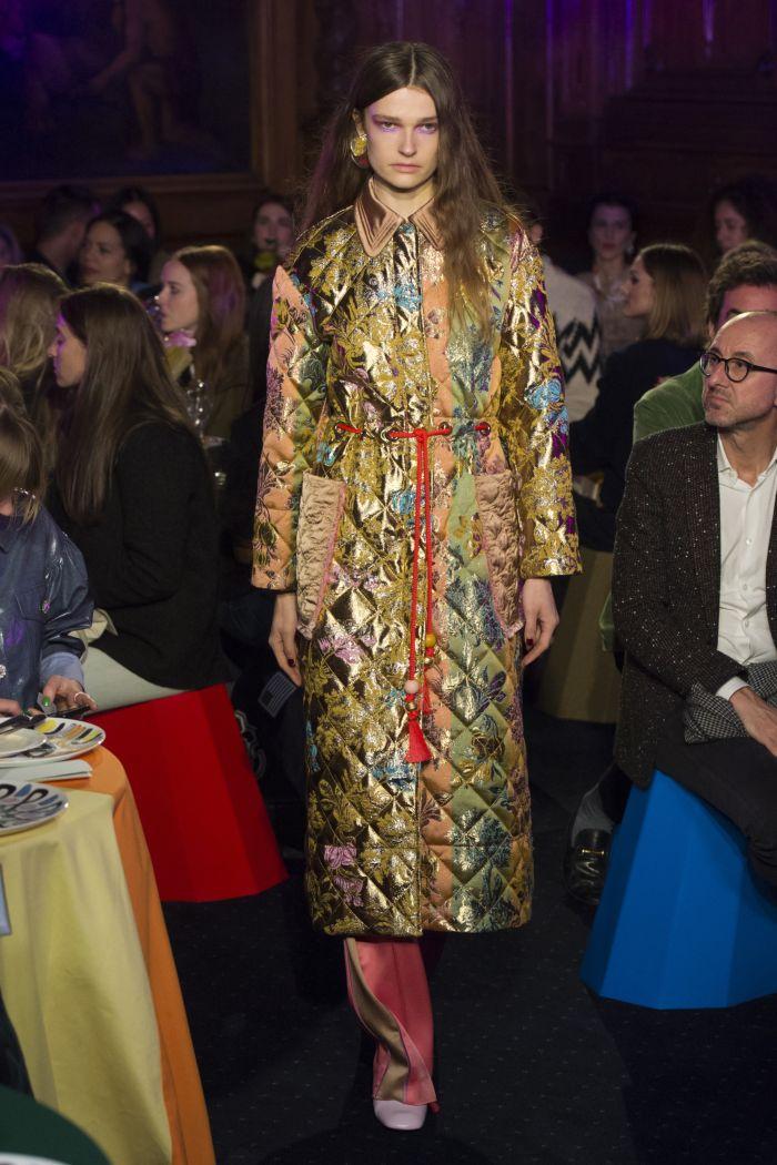 Модное пальто Peter Pilotto