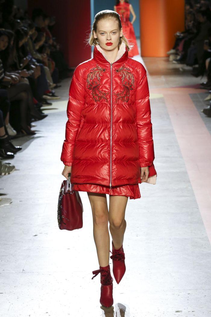 Модный женский пуховик Shiatzy Chen