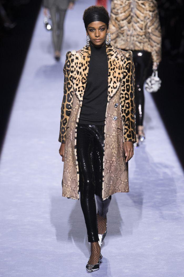 Модное пальто Tom Ford