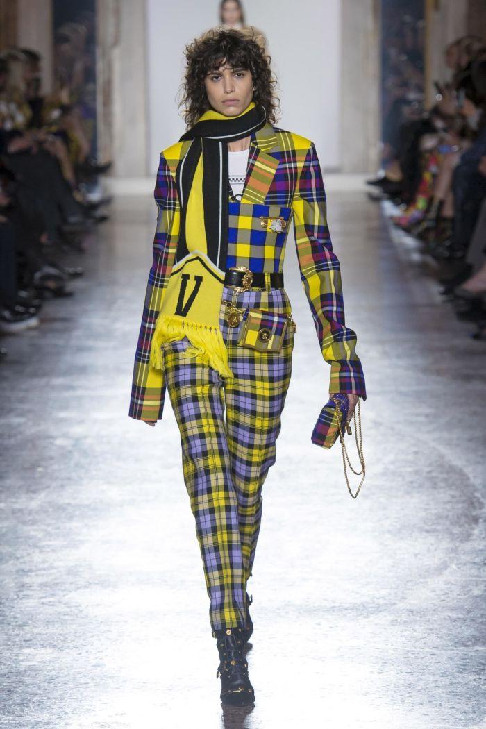 Модные женские брюки Versace