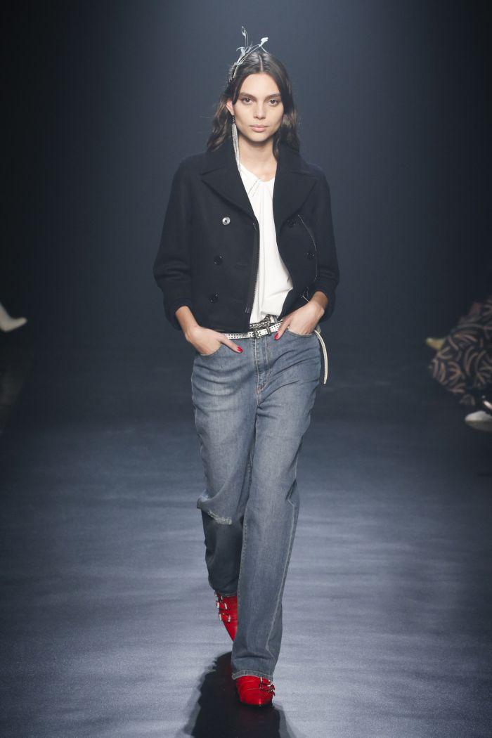 Модные женские джинсы Zadig & Voltaire