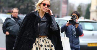 Модная черная куртка: с чем носить