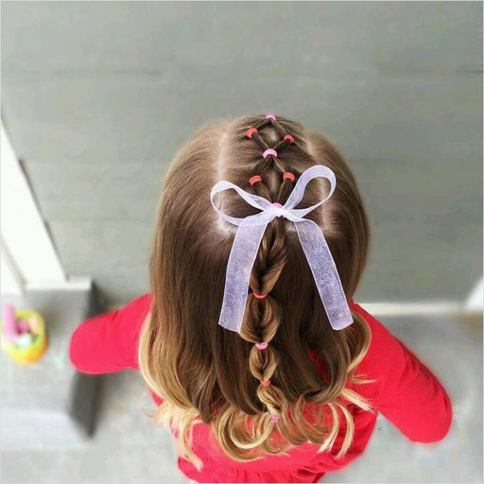 Прически в детский сад