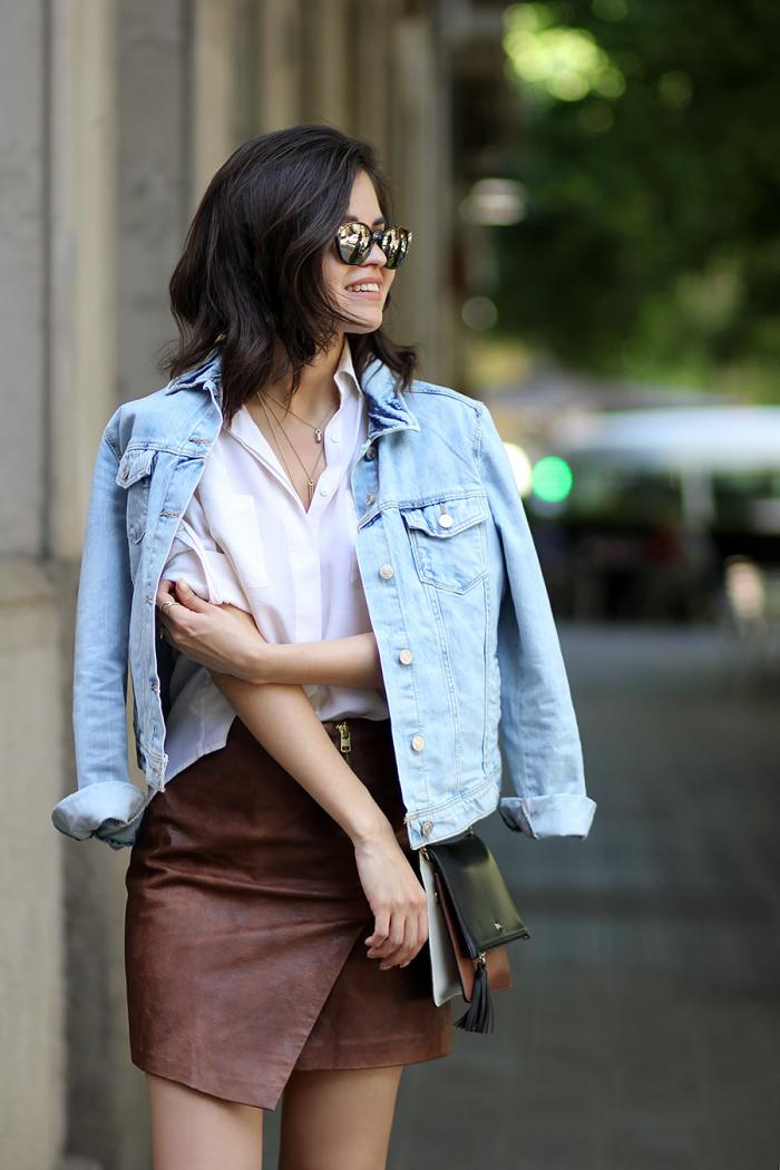 С чем носить джинсовую куртку