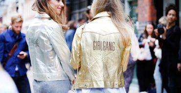 Серебристая куртка металлик: с чем носить