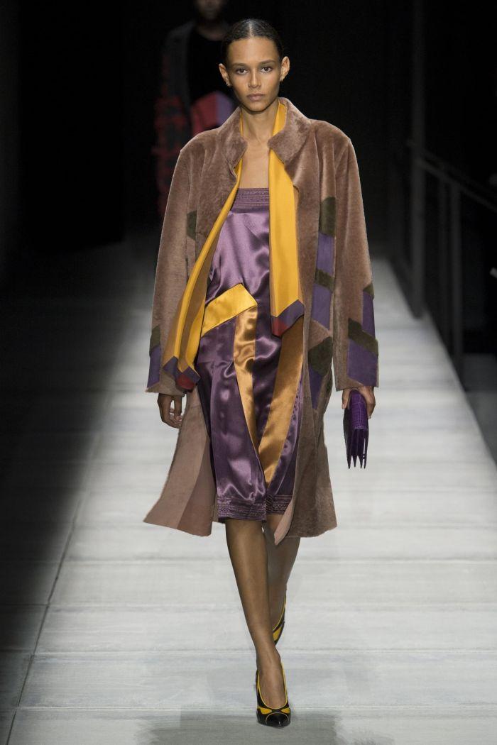Модная шуба Bottega Veneta