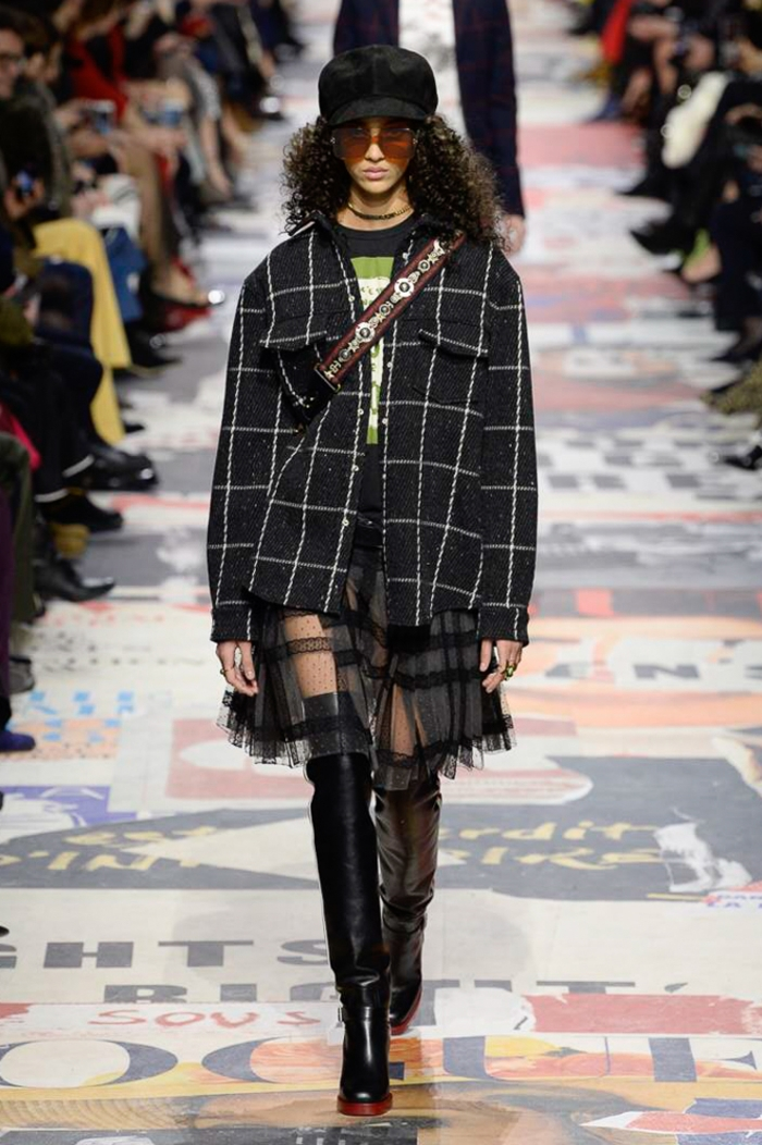 Модные ботфорты Christian Dior