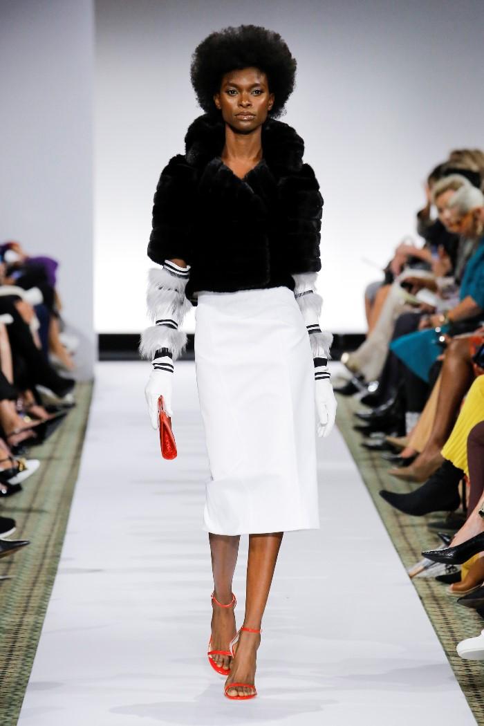 Белая юбка Dennis Basso