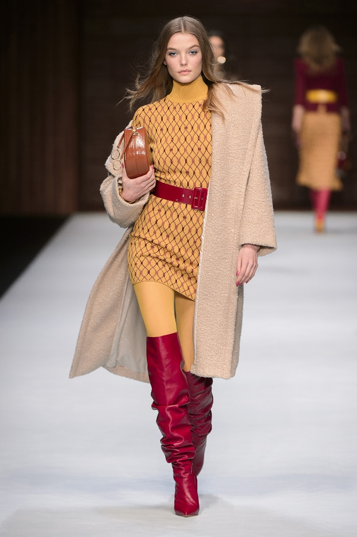 Модные ботфорты Elisabetta Franchi