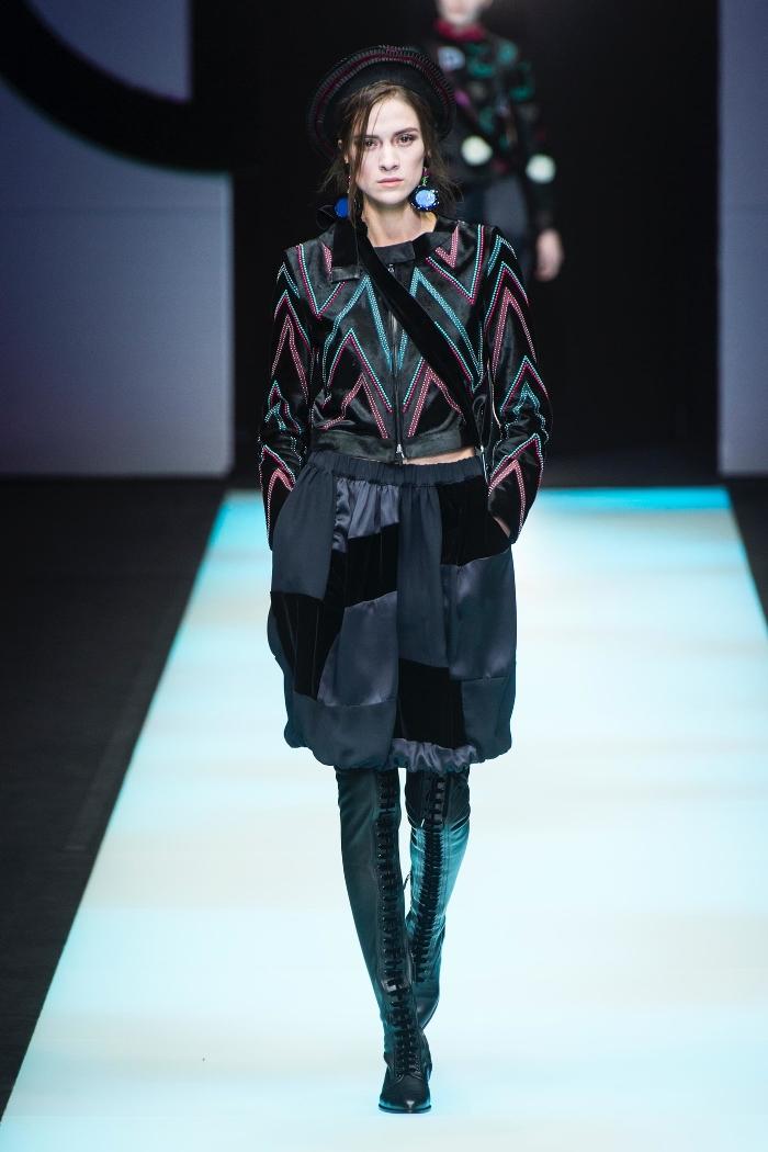 Модные ботфорты Giorgio Armani