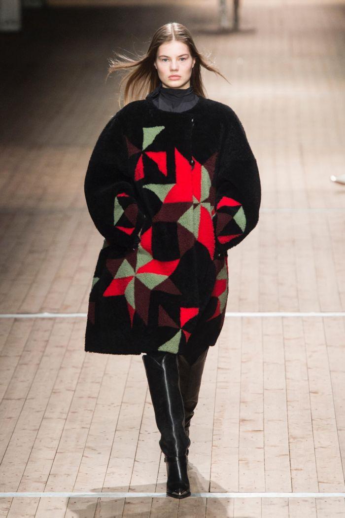 Модная шуба Isabel Marant