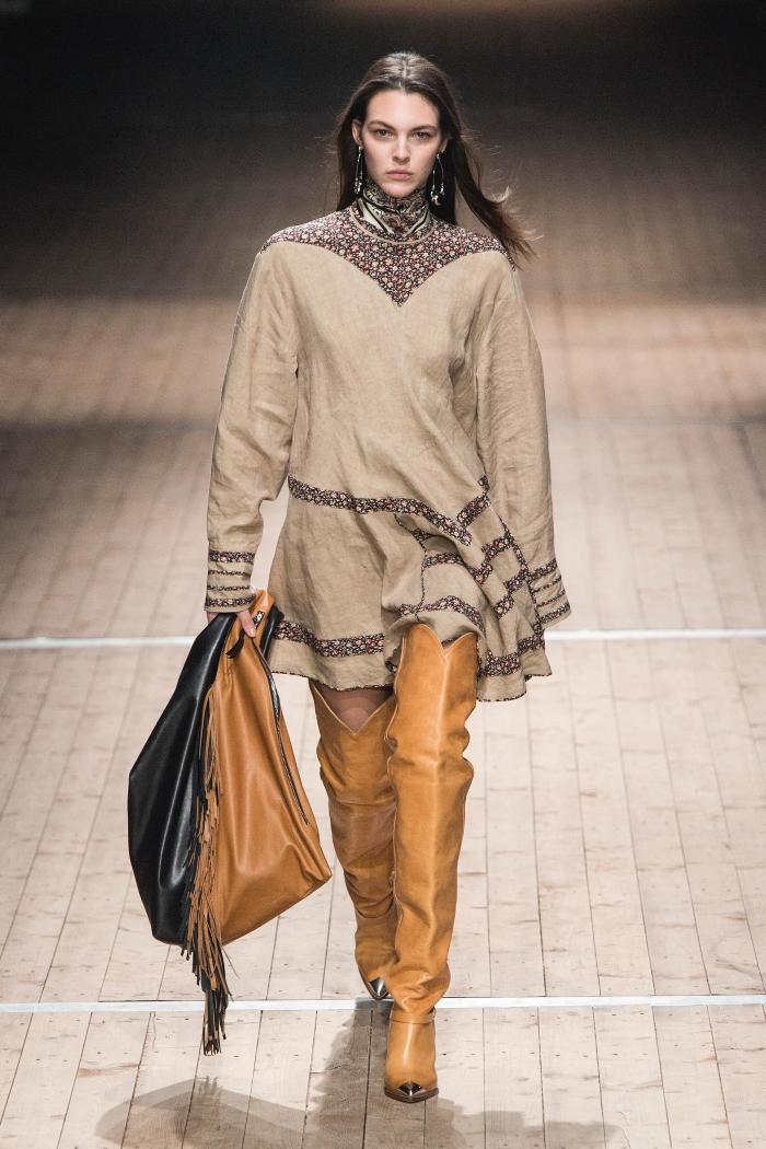 Модные ботфорты Isabel Marant