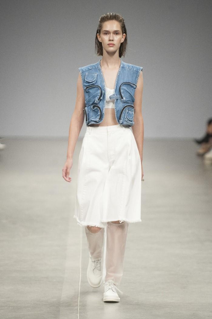 Белая юбка Ksenia Schnaider