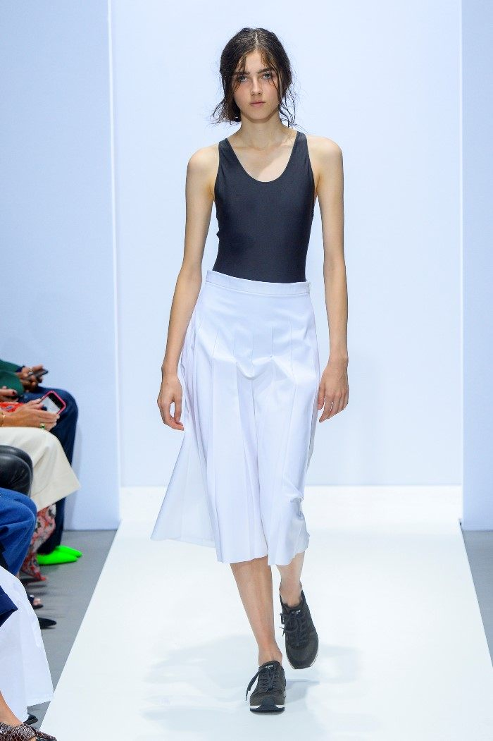 Белая юбка Margaret Howell