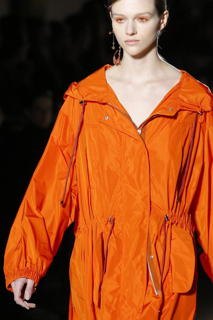 Женская куртка парка Dries Van Noten
