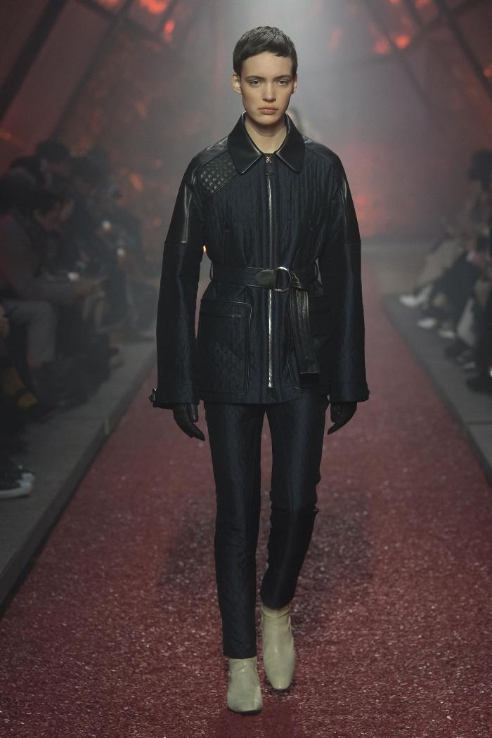 Женская куртка парка Hermès