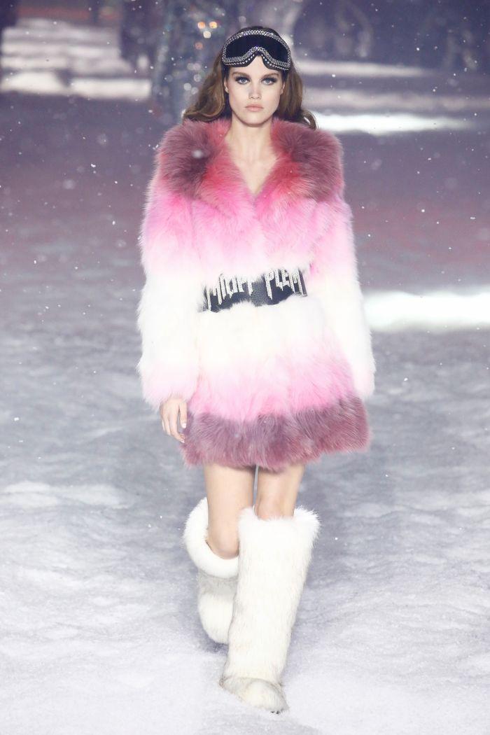 Модная шуба Philipp Plein