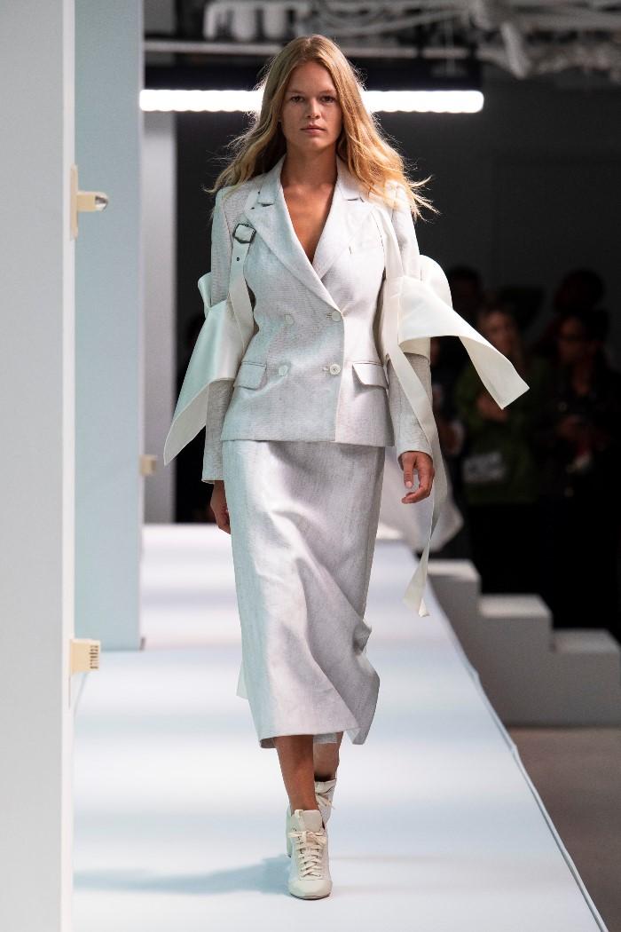 Белая юбка Sies Marjan