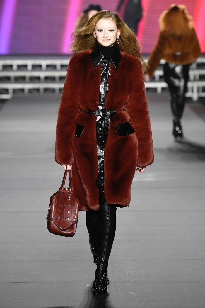 Модная шуба Sonia Rykiel